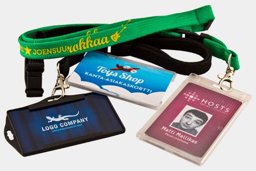 Muovikortit / asiakaskortit / ohutlevykortit